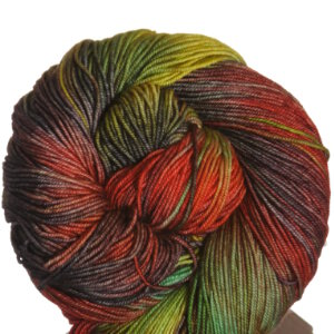 Araucania Huasco Yarn - 002 Black, Orange, Gold