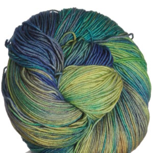Araucania Huasco Yarn - 004 Gold, Green, Blue