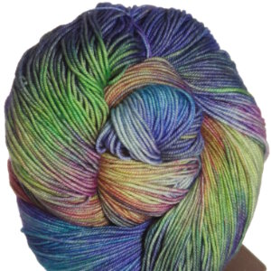 Araucania Huasco Yarn - 008 Purple, Bright Blue