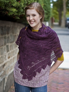 Berroco Ultra Alpaca Fine Stimson Ave Stole Kit - Scarf and Shawls