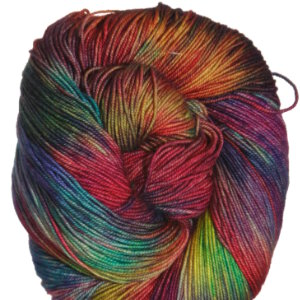 Araucania Huasco Yarn - 018 Yellow, Red, Violet, Orange, Blue