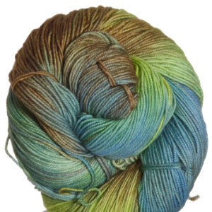 Araucania Huasco Yarn - 022 Evergreen, Lime, Green, Purple, Yellow