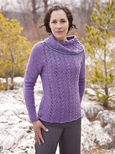 Berroco Ultra Alpaca Light Calcite Pullover Kit - Women's Pullovers