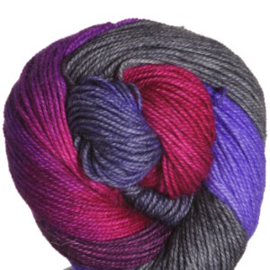 Araucania Puelo Yarn - 1970 Grey, Purple, Cranberry