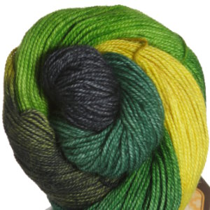 Araucania Puelo Yarn - 1964 Slate, Olive, Green, Yellow