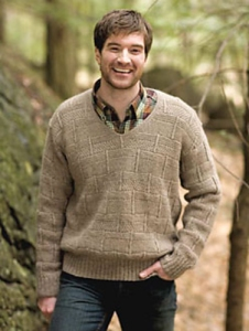 Berroco Ultra Alpaca Light Cuvier Pullover Kit - Mens Sweaters