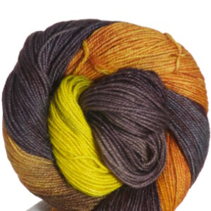 Queensland Collection Llama Lace Yarn - 13 Yellow Gold, Brown