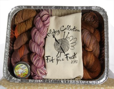 Fit for A Feast To Go - Just Desserts Kit - Gift, Needle and Pattern Sets