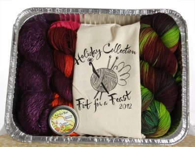 Fit for A Feast To Go - Scrumptious and Stunning Kit - Gift, Needle and Pattern Sets