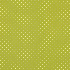 Heather Bailey Lottie Da Fabric - Lottie Dot - Olive