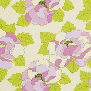 Heather Bailey Lottie Da Fabric - Go-Go Rose - Pink