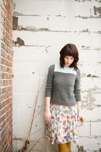 Berroco Vintage Phinney Pullover Kit - Women's Pullovers