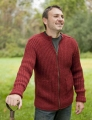 Berroco Vintage Lakenvelder Men's Zip-up Kit