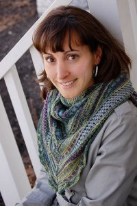 Knit One, Crochet Too Patterns - Taking Flight Shawlette Pattern