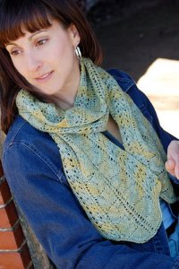 Knit One, Crochet Too Patterns - Manor Born Scarf Pattern