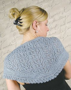 Knit One, Crochet Too Patterns - Ballyclare Stole Pattern