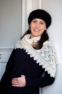 Knit One, Crochet Too Patterns - Botanie Lace Scarf Pattern
