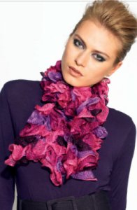 Katia Ondas Scarf Kit - Scarf and Shawls