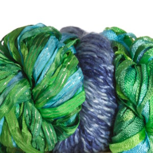 Jimmy Beans Wool Luxury Grab Bags - Blue/Green