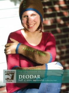 Juniper Moon Farm The Karakoram Collection Patterns - The Karakoram Collection: Deodar Hat & Arm Warmers Pattern