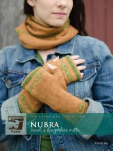 Juniper Moon Farm The Karakoram Collection Patterns - The Karakoram Collection: Nubra Cowl & Fingerless Mitts Pattern