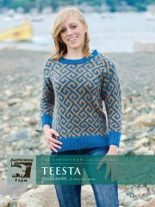 Juniper Moon Farm The Karakoram Collection Patterns - The Karakoram Collection: Teesta Pullover Pattern