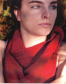 Swans Island Worsted Claire Bandana Kit - Scarf and Shawls