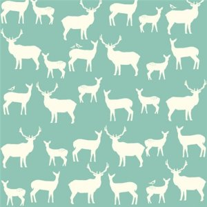 Birch Fabrics Elk Grove Knits Fabric - Elk Family Pool