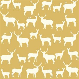 Birch Fabrics Elk Grove Knits Fabric - Elk Family Sun