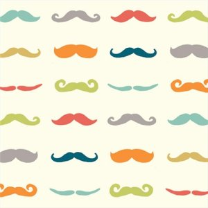 Birch Fabrics Just For Fun Knits Fabric - Staches - Multi (Ships July)