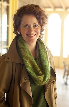 Rowan Kidsilk Haze Churchmouse Crocheted Moebius Cowl Kit - Scarf and Shawls