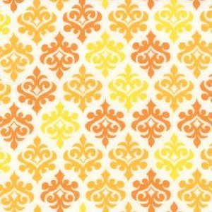 Me and My Sister Giggles Fabric - Wallpaper - Bang Yellow (22205 16)
