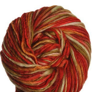 Manos Del Uruguay Wool Clasica Space-Dyed Yarn - 13 - Red, Gold (Limited Edition)