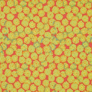 Brandon Mably Sand Dollar Fabric - Sepia