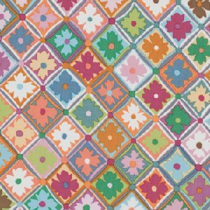 Kaffe Fassett Antwerp Flowers Fabric - Soft