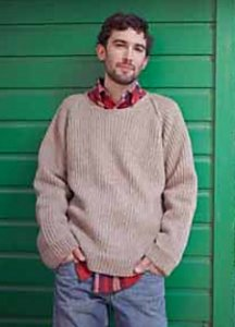 Berroco Vintage DK Tip Top Sweater Kit - Mens Sweaters