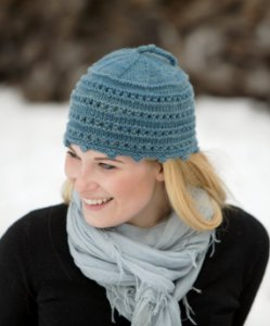 Swans Island Patterns - Picot Hat Pattern