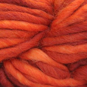 Blue Sky Alpacas Blue Sky Bulky Yarn - 3004 - Red on Orange