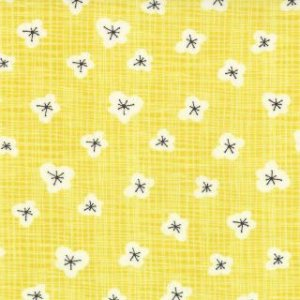 Kate & Birdie Bluebird Park Fabric - Magnolia - Sunrise (13106 16)