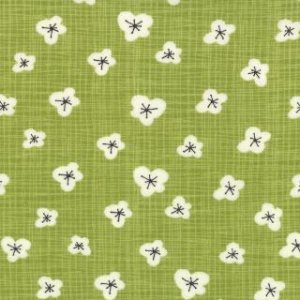 Kate & Birdie Bluebird Park Fabric - Magnolia - Grass (13106 19)