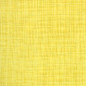 Kate & Birdie Bluebird Park Fabric - Linen Texture - Sunrise (13108 19)