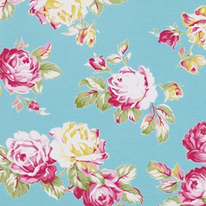 Tanya Whelan Sunshine Roses Fabric