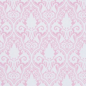 Tanya Whelan Sunshine Roses Fabric - Sunshine Damask - Pink
