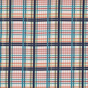Valori Wells Bridgette Lane Flannel Fabric - Plaid - Blueberry