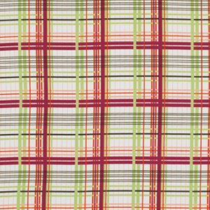 Valori Wells Bridgette Lane Flannel Fabric - Plaid - Cherry
