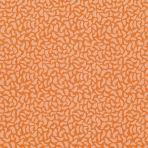 Jenean Morrison Wishing Well Fabric - Chirp - Orange