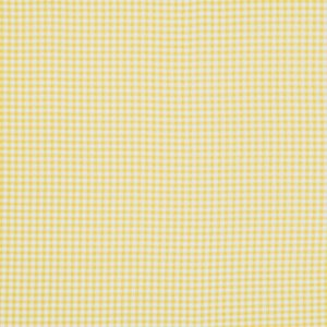Jenean Morrison Wishing Well Fabric - Gingham - Yellow
