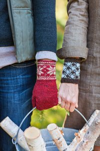 Churchmouse Classics Patterns - Colorwork Cuffs & Mittens