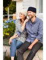 Churchmouse Classics Patterns - Seaworthy Gansey Cap