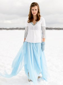 Blue Sky Alpacas Adult Clothing Patterns - Sylvia Sweater Pattern